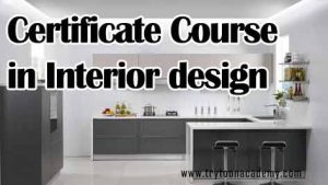 Certificate Course For Interior Design Is Related To 3 Months 5 We Our Short Term Courses Like CAD Drafting Which One