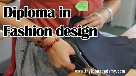 Get Admission Two Years Diploma Fashion Design Course