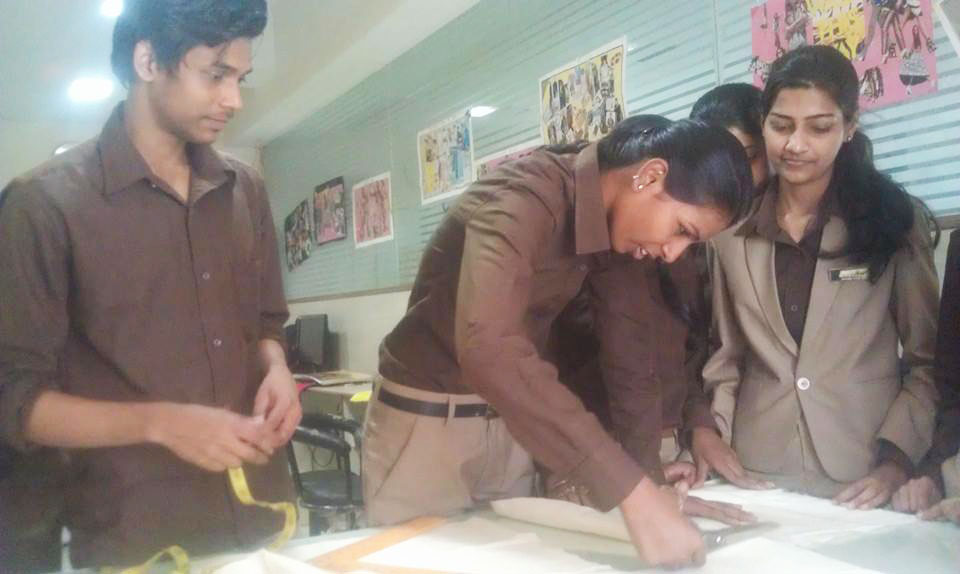 Fashion design students at Trytoon Academy