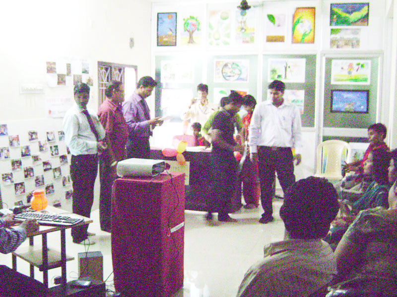 students workshop organised by college
