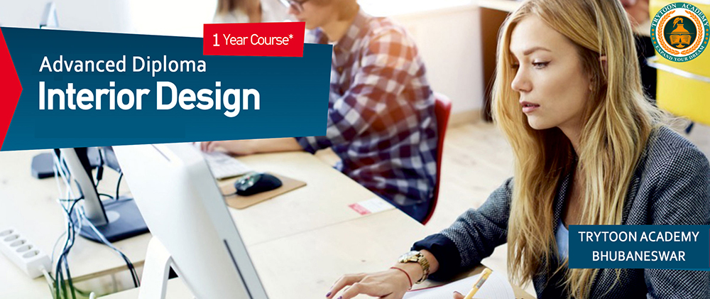 Advanced diploma one year interior design course