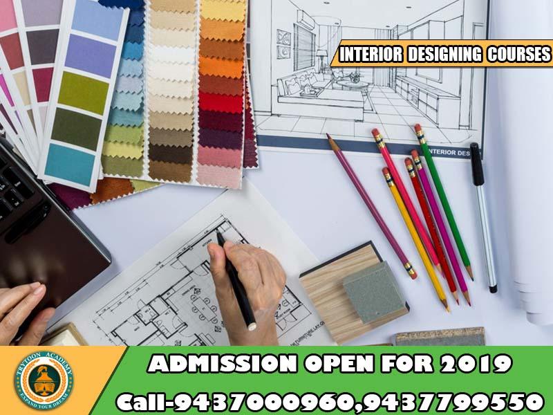 admission for interior designing courses