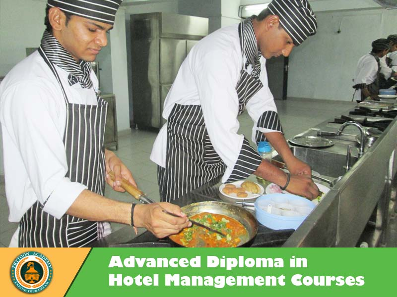 best hotel management college provide one year hotel management advanced diploma course