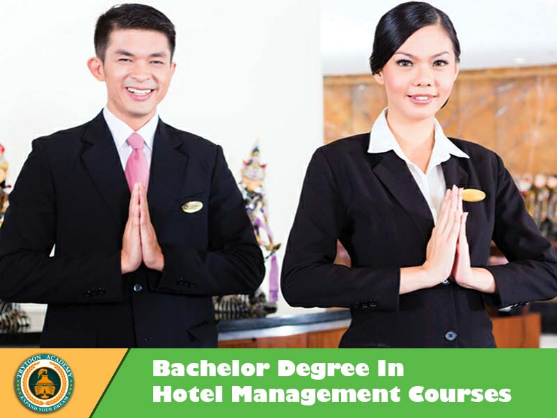 Bachelor degree in Hotel management course