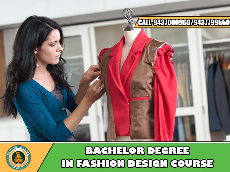 Fashion design Bachelor degree course