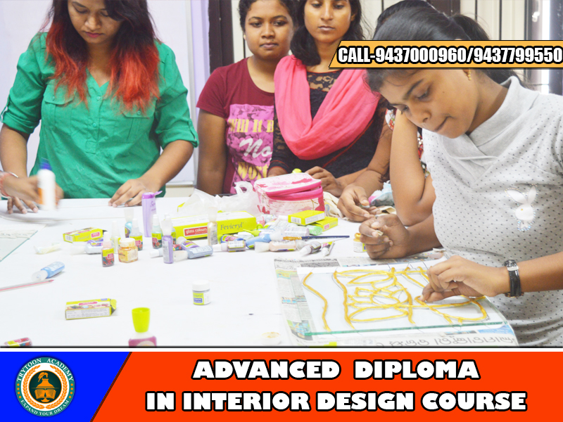 one year interior design course
