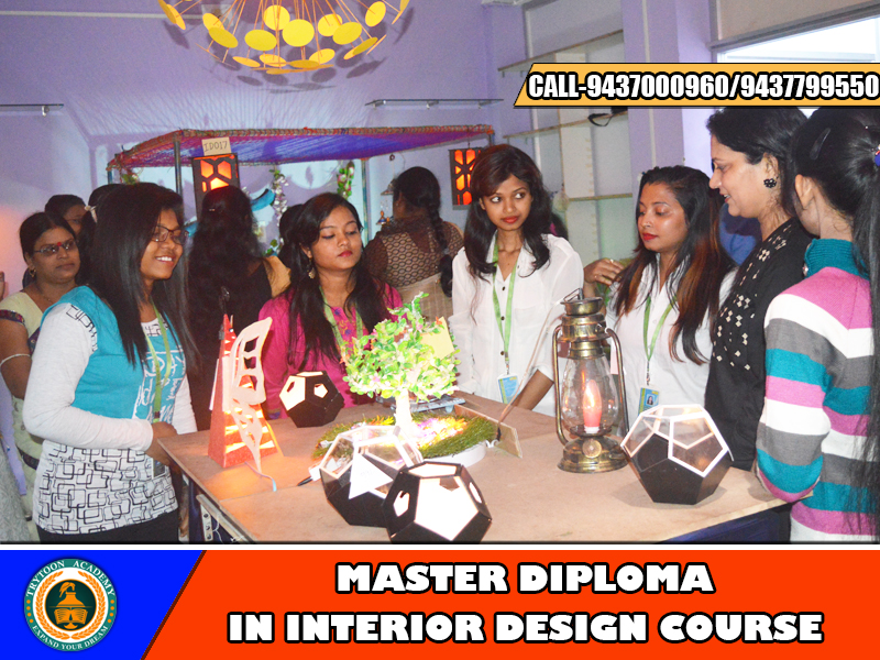 Interior design Master Diploma courses for two years and four semester module