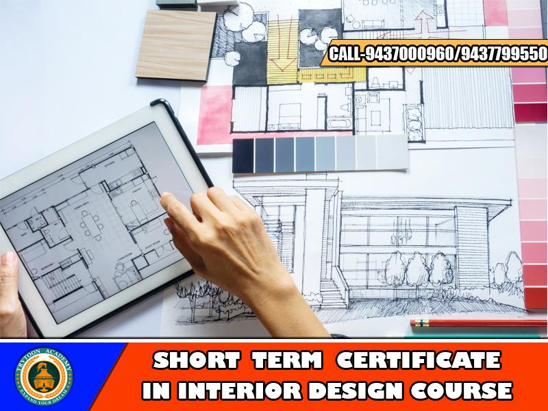 Short Term Interior Design Course Available In Best Interior Design College