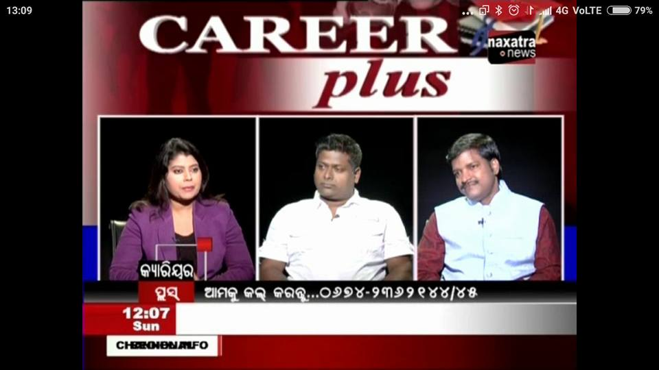 Career Plus discussion with audience at Press media