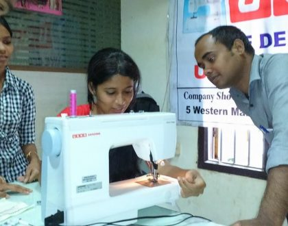 Workshop for Fashion Design students Organised by USHA