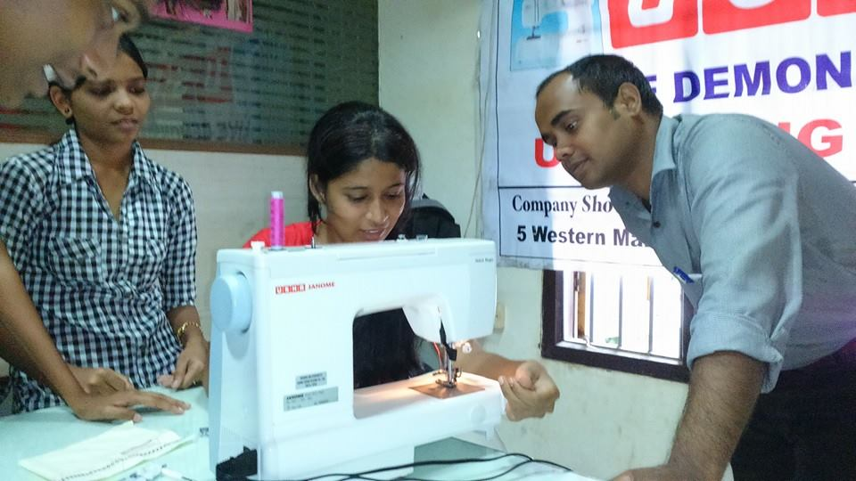 Workshop for Fashion Design students Organised by USHA