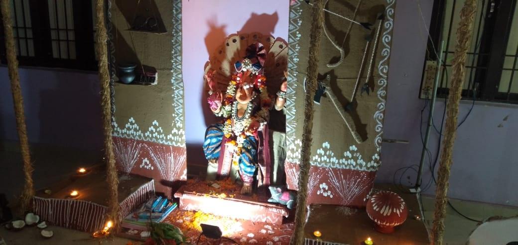 Ganesh puja 1