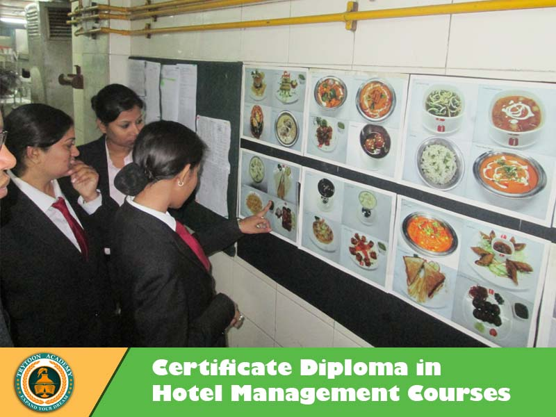 hort term hotel management courses