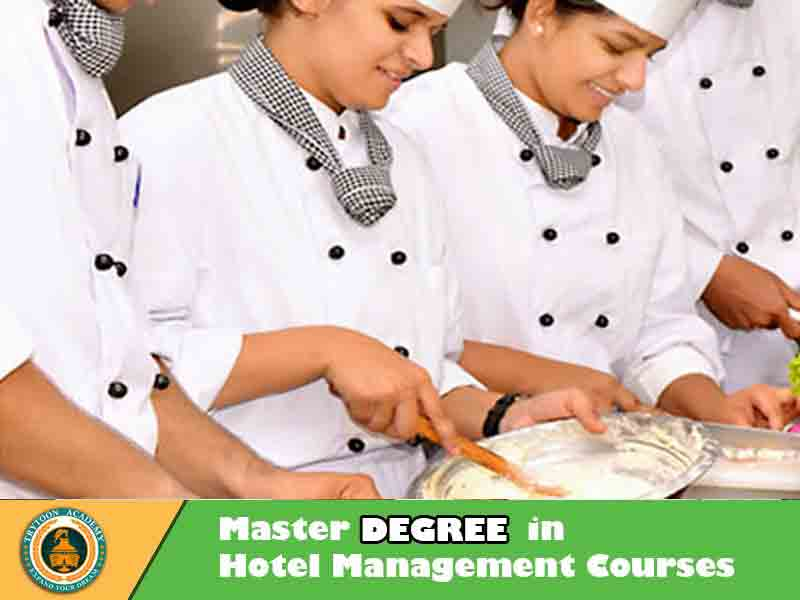 Master degree in Hotel management colleges