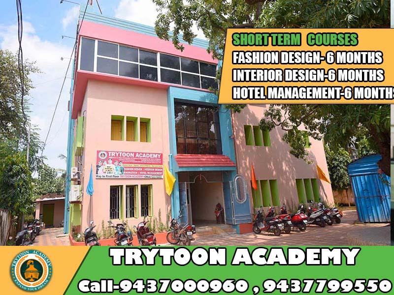 short term courses for fashion design,interior design,hotel management