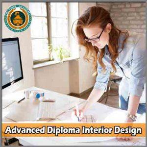 1year advanced diploma interior design course