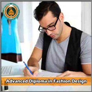 Fashion design 1yr course Advanced Diploma in Fashion Design