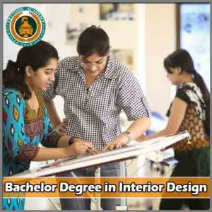 Bachelor Degree in Interior Design course