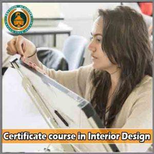 Short term certificate interior design courses