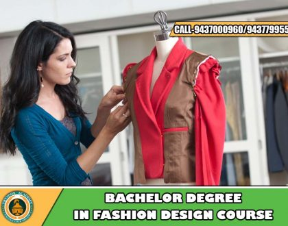 Undergraduate fashion design course