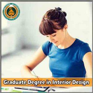 Graduate Degree in Interior Design / Bsc interior design course