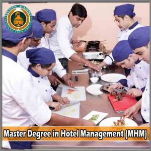 Master Degree in Hotel Management (MHM) course