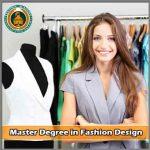 Master Degree in Fashion design course