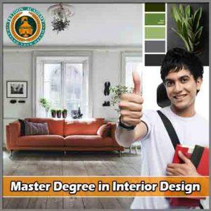 Master Degree in Interior Design course