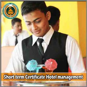 Short term certificate courses for hotel management