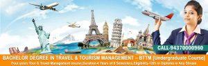 Tour and Travel management courses