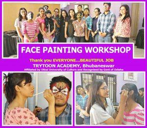 face paining workshop
