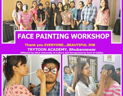 face paining workshop