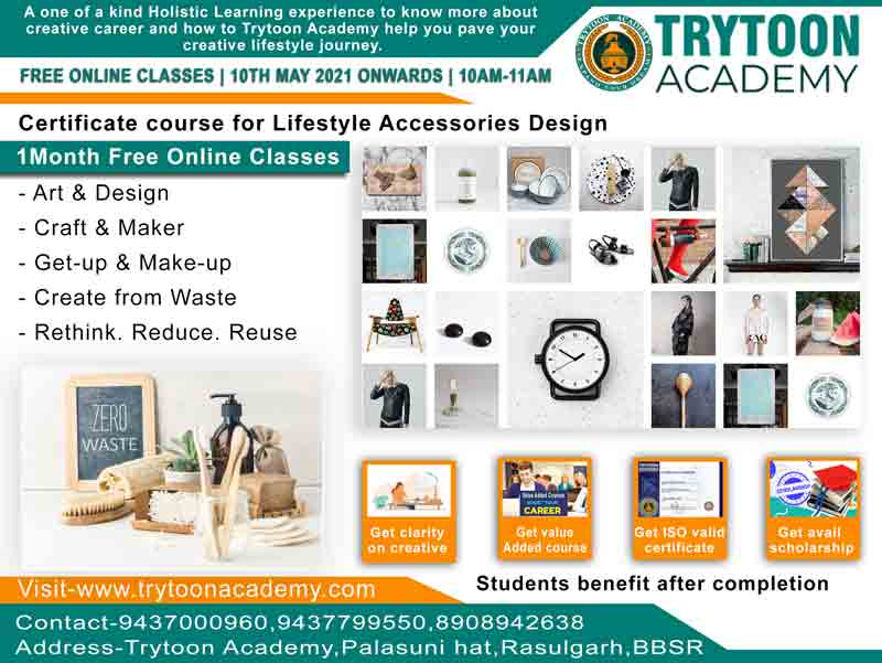 Lifestyle and Accessories Design course